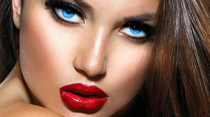 makijaż tłustej cery