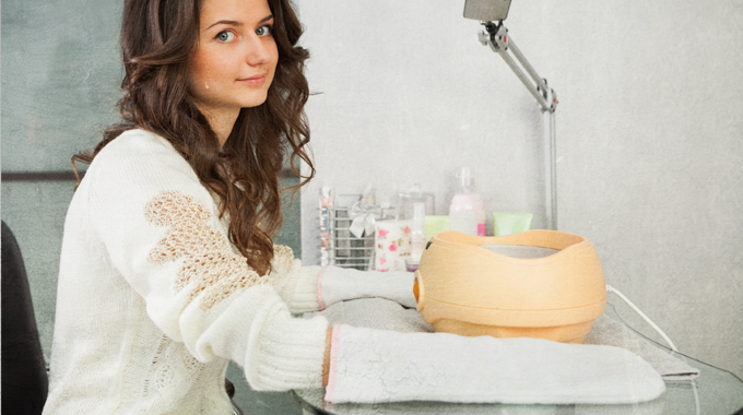 Pielęgnacja dłoni w salonie kosmetycznym