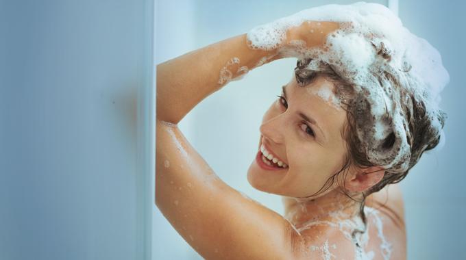 Wlasciwe mycie wlosow