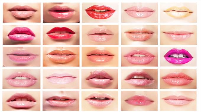 Kolor szminki a usta