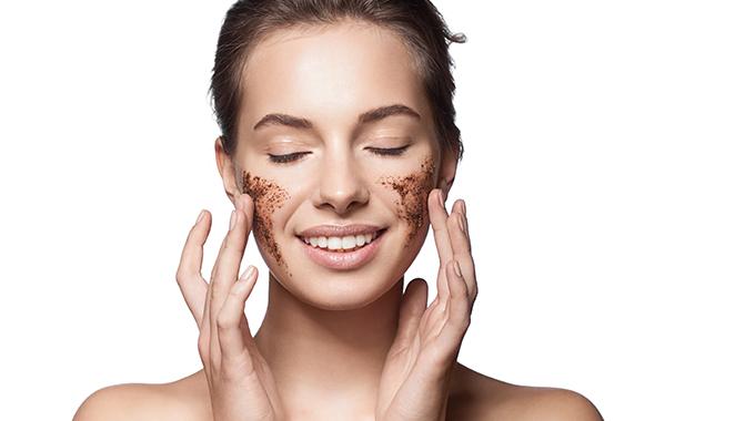 Peeling kawowy na twarz