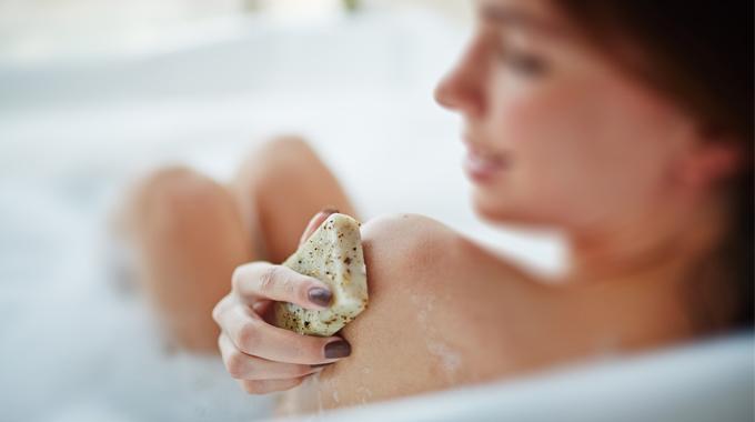 Pielęgnacja skóry naturalnym mydłem